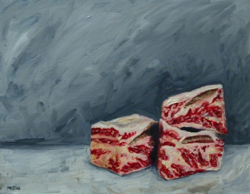 Bone-in Short Ribs painting