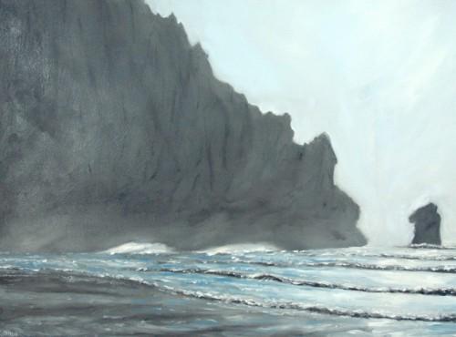 Morro Bay painting