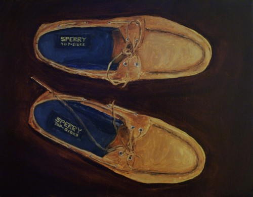 Top-Siders painting