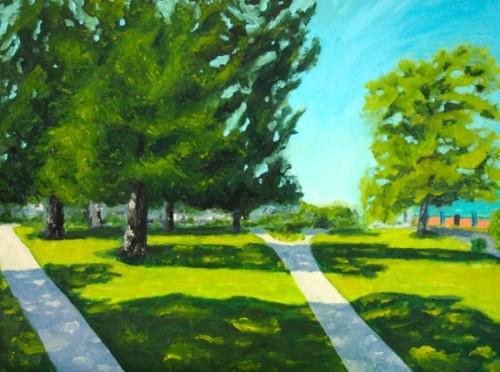 Fletcher Park painting