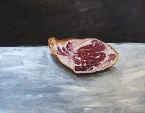 Prosciutto painting