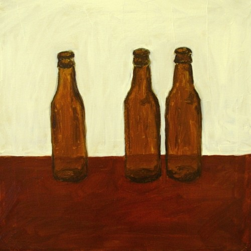 Bottles painting