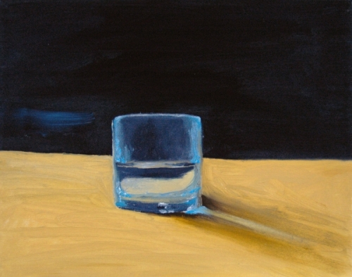 Glass of Water painting