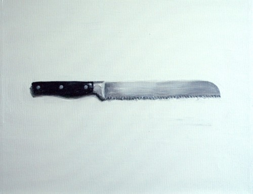 Bread Knife painting
