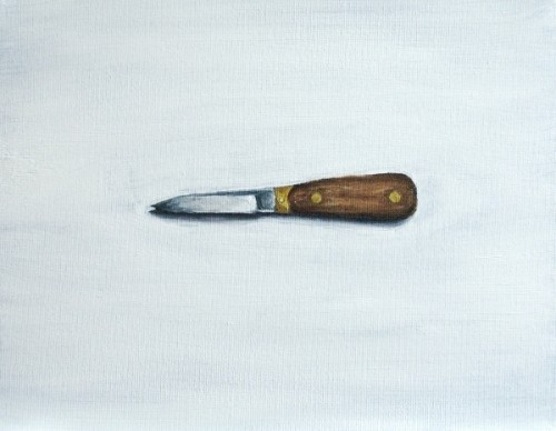 Oyster Knife painting