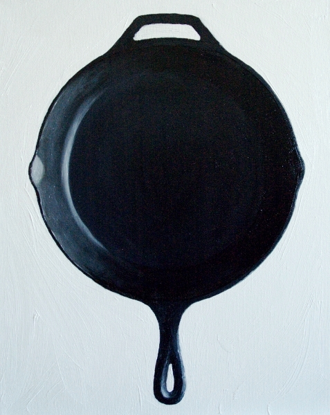 Skillet painting