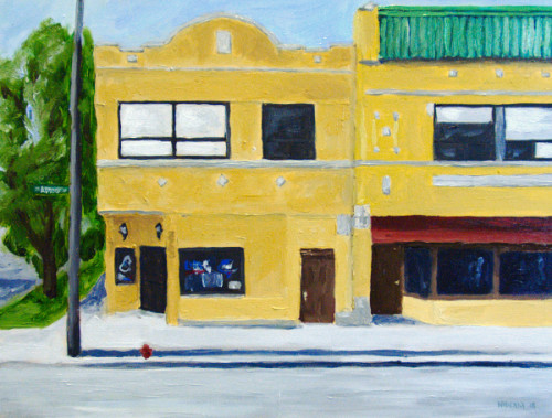 Angie's Tavern painting
