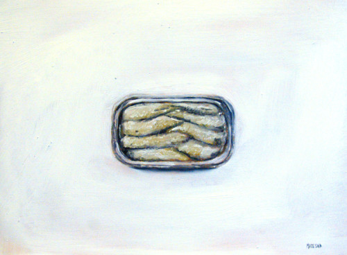 Sardines painting