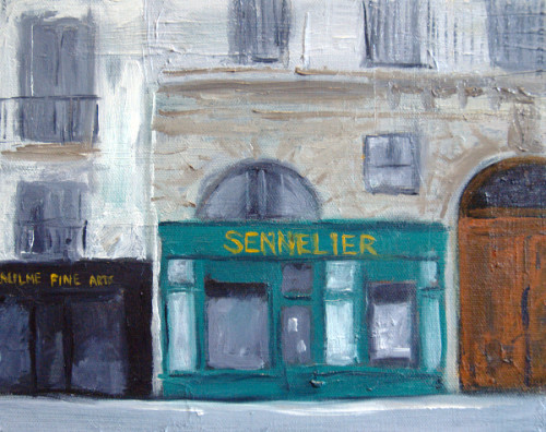 Sennelier painting
