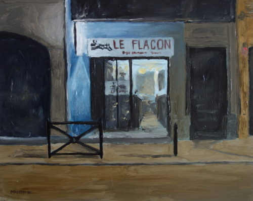 Le Flacon painting